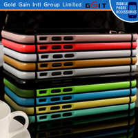 Bright Color TPU Plastic Combo Bumper Case for iPhone 6 Plus 5.5 ' Frame Bumper Case