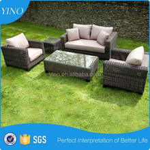 New Modern Wicker Outdoor Modular Corner Sofa Chaise Lounge Rattan Furniture Set RZ1381