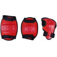 Children's outdoor sports protective gear three-piece suit Plastic Material Elbow & Knee Pads skating protective gear