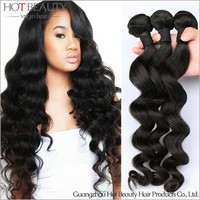 Fashion Long Size Unprocessed Natural Wave Wholesale Virgin Malaysian Hair