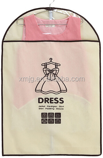 Wholesale Breathable Non Woven Zipper Garment Bag
