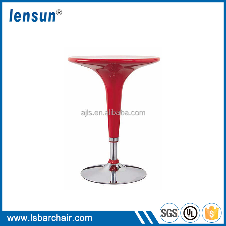 Modern bar furniture swivel bar chair with red /various colors available