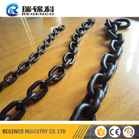 Welded Chain Grade 80 G80 Black Alloy Chain Lifting Chain