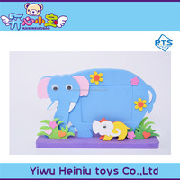 wholesale diy toys factory sales EVA animal small picture frame