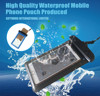 Universal PVC waterproof mobile phone case bag