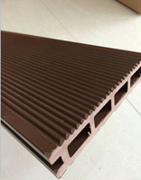 outdoor plastic vinyl decking board with Tiny Grooves Outdoor PE Decking Board