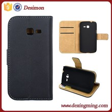 Flip wallet leather case for samsung galaxy trend lite s7390 s7392