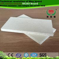 waterproof replace gypsum board plasterboard no chloride no sweat mgo sulpahte board mgso4 board for cheap exterior wall panel