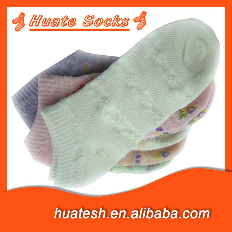 Fashion Bamboo fiber Socks With Mesh For Lady