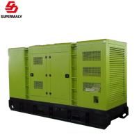 Hot!OEM Low price Yuchai diesel generator 100kva genset AC three phase output