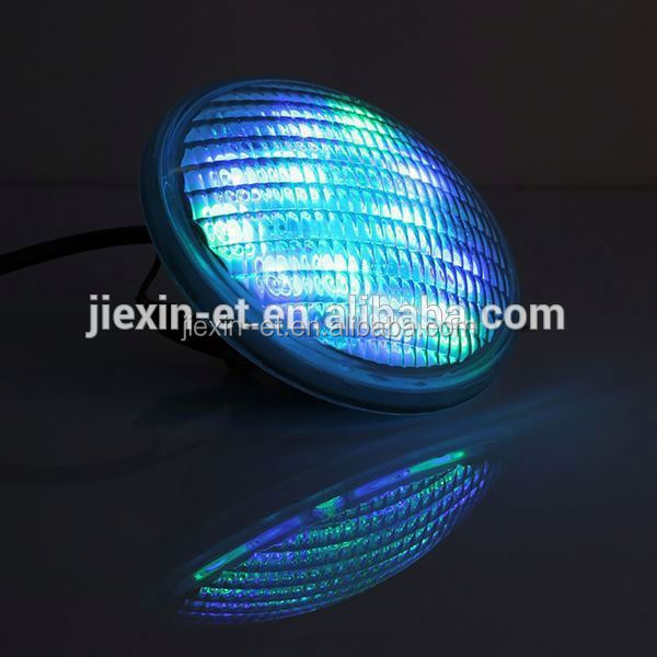 Factory Promotion 36W marine underwater led lights boats IP68 par56 swimming pool underwater led rope light with remote control
