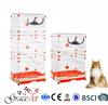 Hot selling pet carrier cat house cat cage