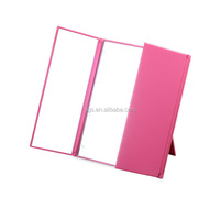 Foldable Portable Amplification Small Craft Square Led Cosmetic Mirror