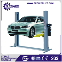 Hydraulic 2 post type 3.5ton used wheel alignment lift for car