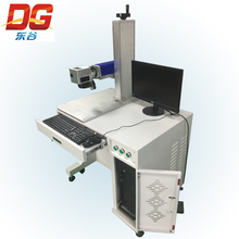 Manufacturer competitive price Portable Mini Fiber Laser Marking Machine for Metal Engraving
