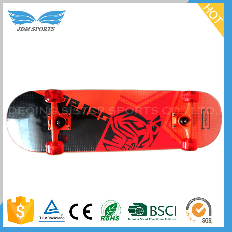 Factory Price Wood Maple Canadian Maple Skateboard