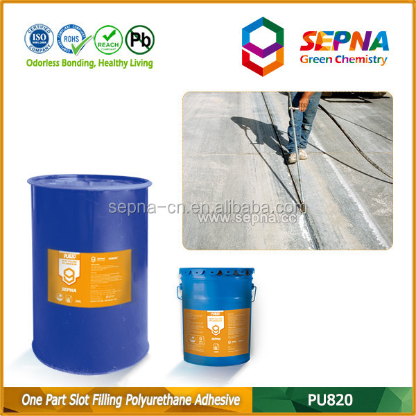 PU Joint Sealant Applied in Bridge Deck Concrete Crack Repair