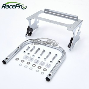 Hot Sale Motorcycle Detachable Two-up Tour-Pack Motorcycle Mounting Rear Luggage Rack For Harley Davidson 1997-08
