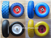 "Small Solid Rubber Wheels 8"" 10"" 12"" 13"" 14"" 15"" 16"""
