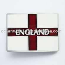 Belt Buckle (England UK Flag)