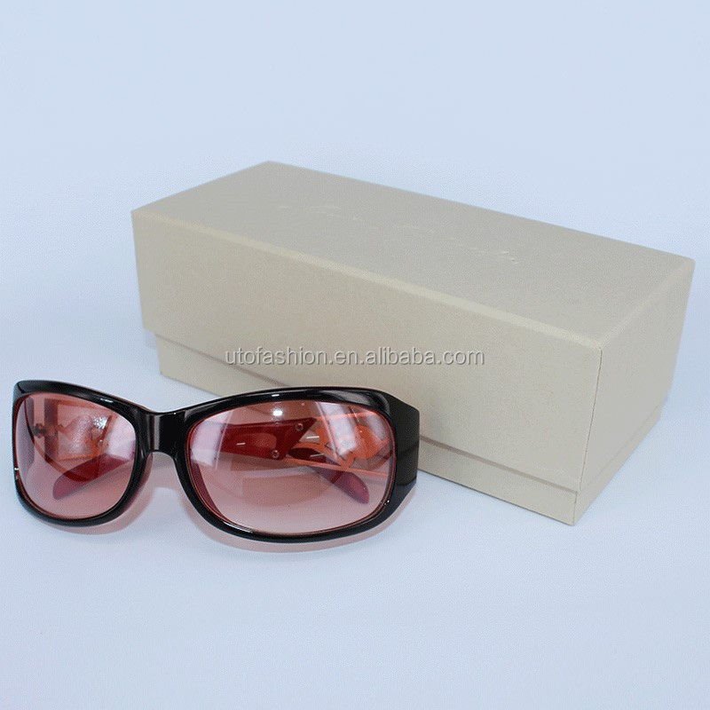 YT7002 Wholesale paper eyeglasses case with handmade