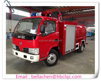 Competitive price 3000-4000L DFAC small fire truck for sale