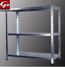 3 Tier Galvanized Metal <strong>Shelf</strong>