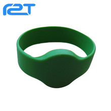 Promotional waterproof rfid silicone wristband/waterproof rfid wristband