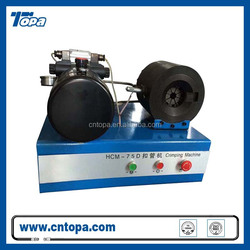 TOPA-75D manual hydraulic hose crimping machine / small hose crimping