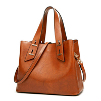 Hot Sale New Style Stitching Casual Women Shoulder Bag Ladies Handbag