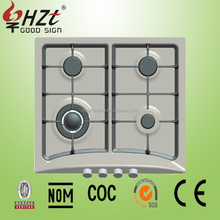 2016 Lowest price stainless steel 4 burner cooktops