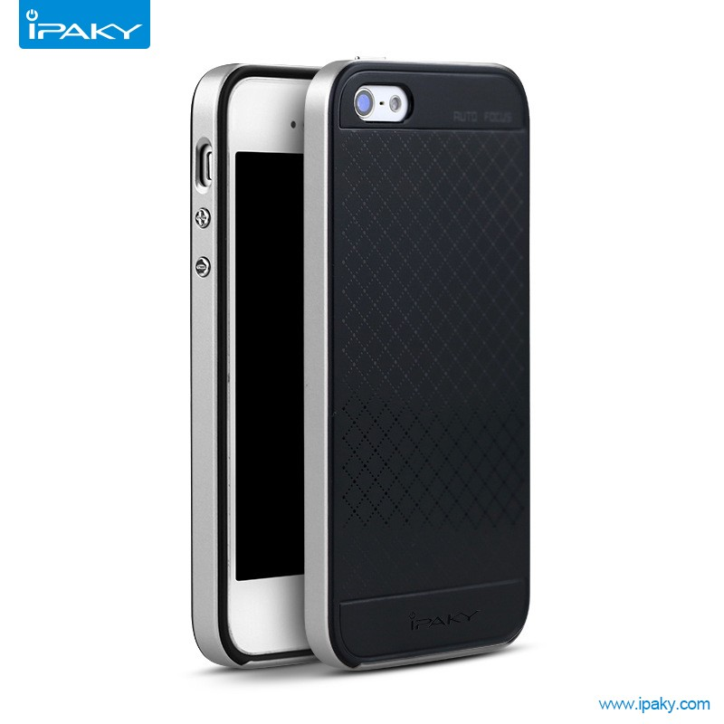 Ipaky Case 2-in-1 Pc Tpu Phone Back Cover mobile phone case for iphone 5