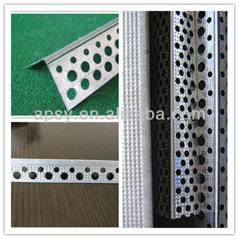 2014 Hot sales Galvanized Steel Round Hole Angle Bead