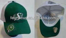 adult cotton 6-panel 3D embroidery cap with bottle opener