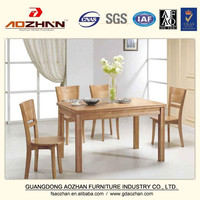 Chinese Modern Restaurant Wooden Dining tables and chairs