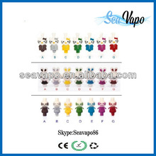 New product hot selling animal drip tips wholesale glass drip tips