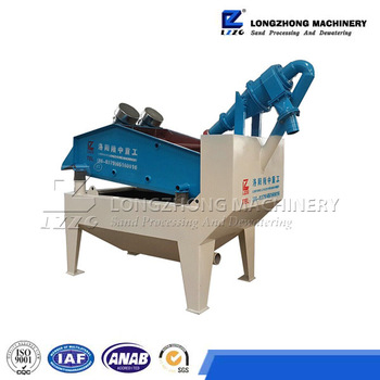 Portable sand suction machine, sand recycling machine