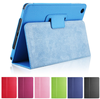 Factory Colorful Flip PU Leather Tablet Smart Cover For Ipad Mini For Ipad 2/3/4 Case