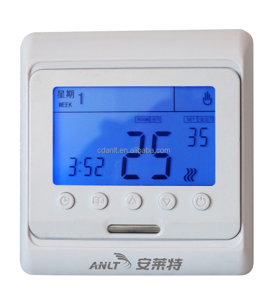 Digital Programmable Electric Floor Heating Thermostat