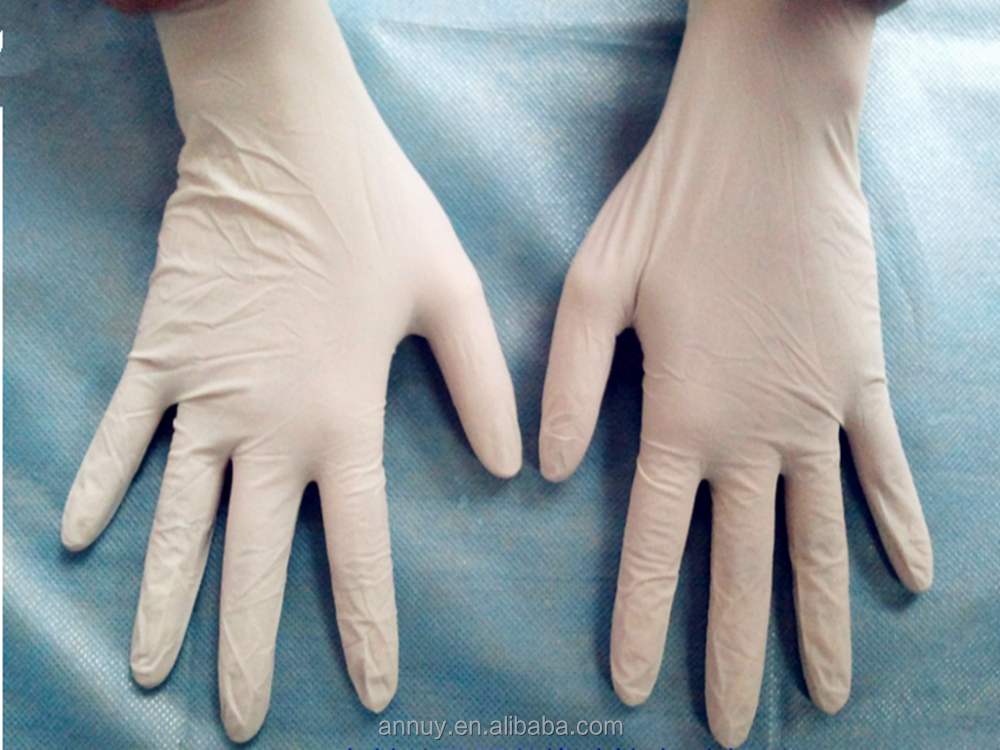 Cheap Disposable Sterile Long Latex Surgical Gloves Prices