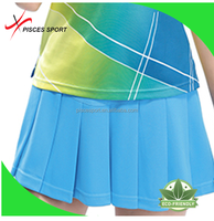ladies cheerleader skirt and blouse factory supply