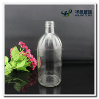 custom clear 500ml Reagent glass bottle medicinal glass bottle Hand washing liquid glass bottle