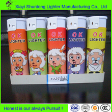 Factory plastic disposable funny lighters
