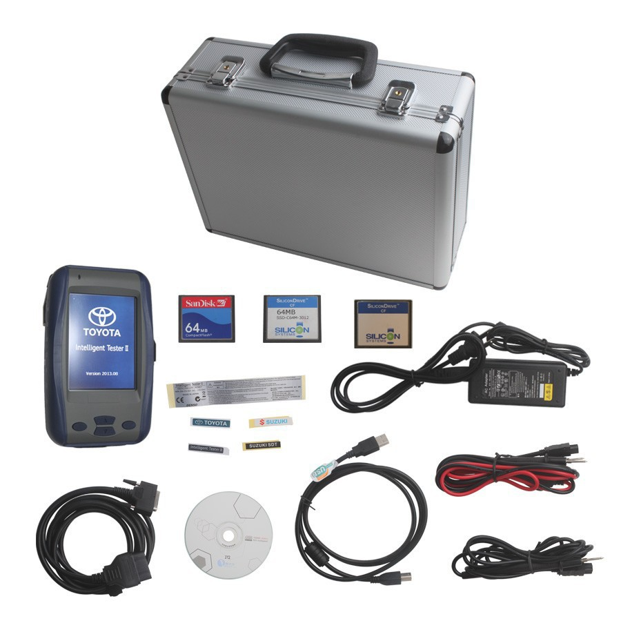 Toyotas Interlligent Tester II,Toyotas Tester-ll lexus Diagnostic Tool With Best Price Toyotas IT2
