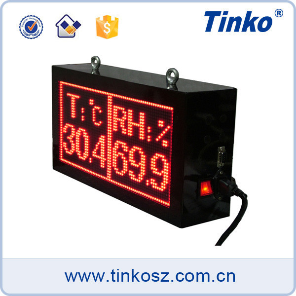 Tinko led clock digital display board temperature and humiidity display made in china TH32A