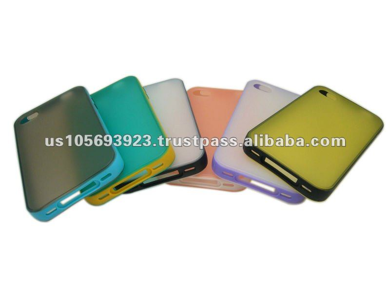 Wholesale Double color TPU case for Iphone 5 paypal accept