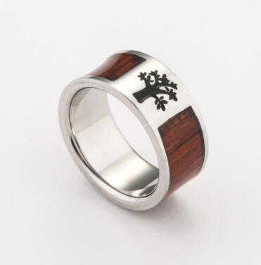Free Sample Ally Express Cheap Wholesale Secret Wood Ring