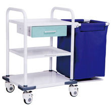 Three Layers Mobile Hospital Linen Trolley