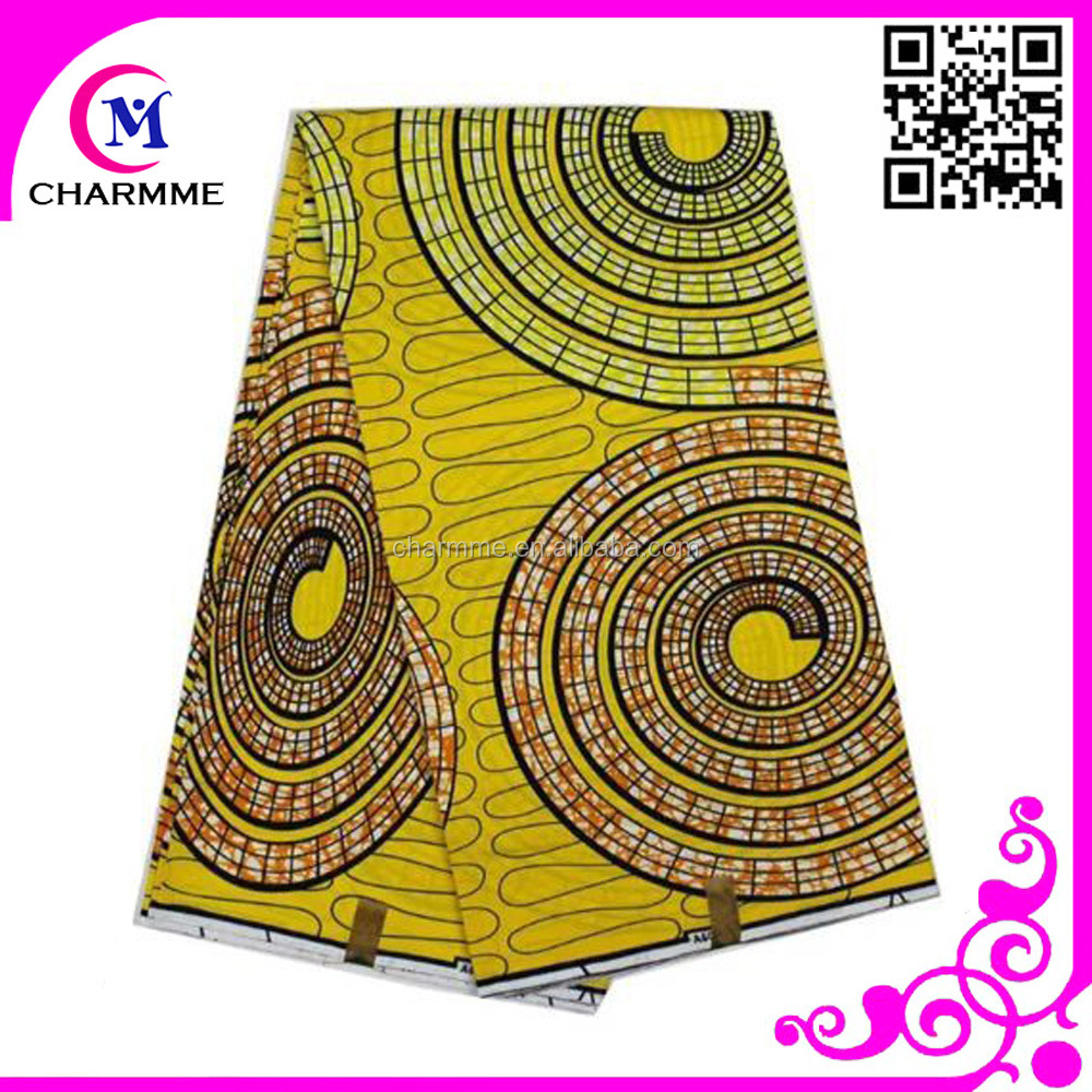 African guaranteed real dutch wax print fabric African style 6 yards each piece high quality Real super wax for dress