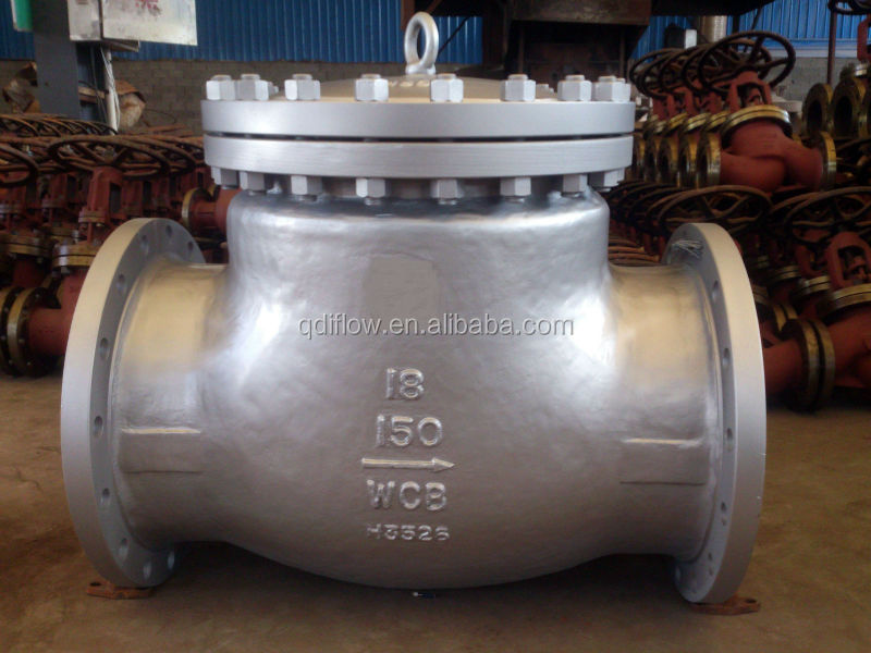 Lift Type ASTM A216 WCB Check Valve with Flange End